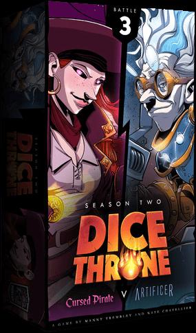 Dice Throne - Cursed Pirate VS Artificer