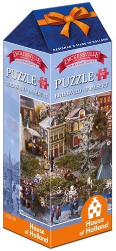 Dickensville Elfsteden - Bolsward Puzzel (100 stukjes)