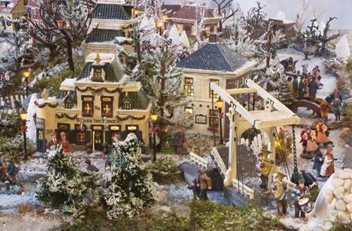 Dickensville Elfsteden - Stavoren Puzzel (500 stukjes)