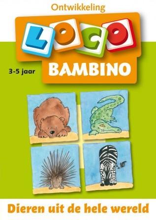 Loco Bambino Boekje - Dieren uit de Hele Wereld