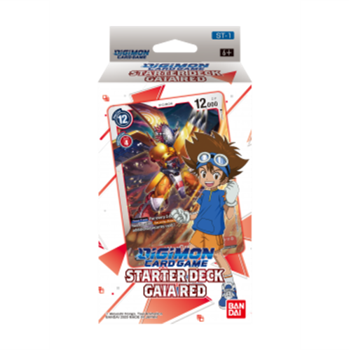 Digimon Card Game - Starter Deck Gaia Red