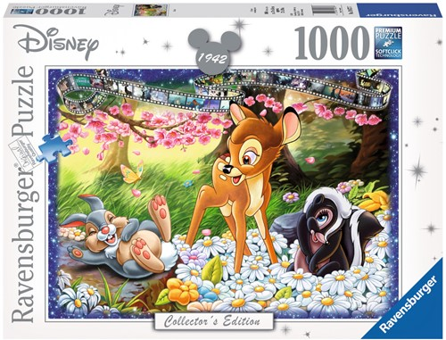 Collector's Edition - Disney Bambi Puzzel (1000 stukjes)