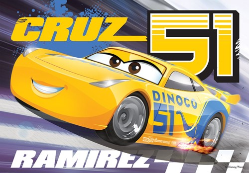 Cars 3 - Puzzel (4 in 1)-3