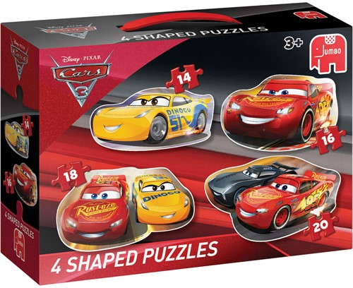 Cars 3 - Vormpuzzels (4 in 1)-1