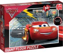 Cars 3 - Grote Vloerpuzzel (50 stukjes)