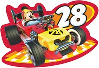 Disney - Mickey and the Roadster Racers - Vormpuzzel (4 in 1)-2