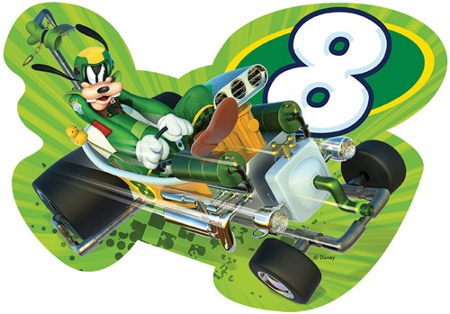 Disney - Mickey and the Roadster Racers - Vormpuzzel (4 in 1)-3