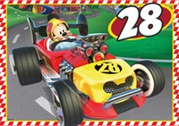 Disney - Mickey and the Roadster Racers Puzzel (4 in 1)-3