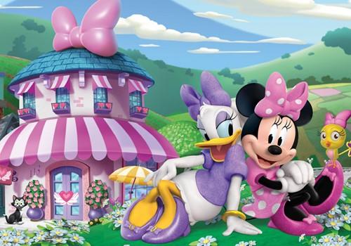 Disney - Minnie Puzzelen & Kleuren-2