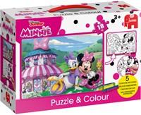 Disney - Minnie Puzzelen & Kleuren-1