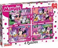 Disney - Minnie's Happy Helpers Puzzel (4 in 1)