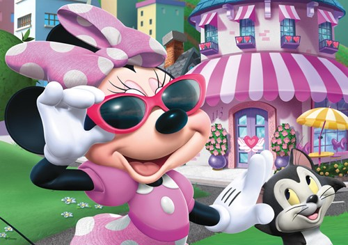 Disney - Minnie's Happy Helpers Puzzel (4 in 1)-2