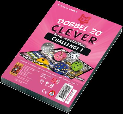 Dobbel zo Clever - Challenge Scoreblok