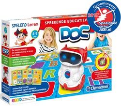 Spelend Leren - DOC, de sprekende educatieve Robot