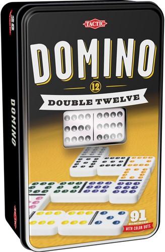 Domino - Double 12 (blik ingedeukt)