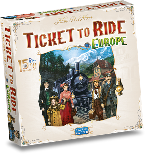 Ticket to Ride Europe 15th Anniversary (NL versie)