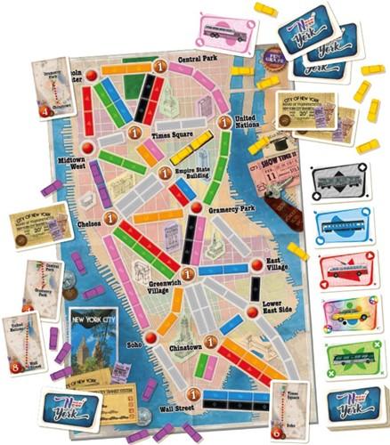 Ticket to Ride New York (NL versie)-2
