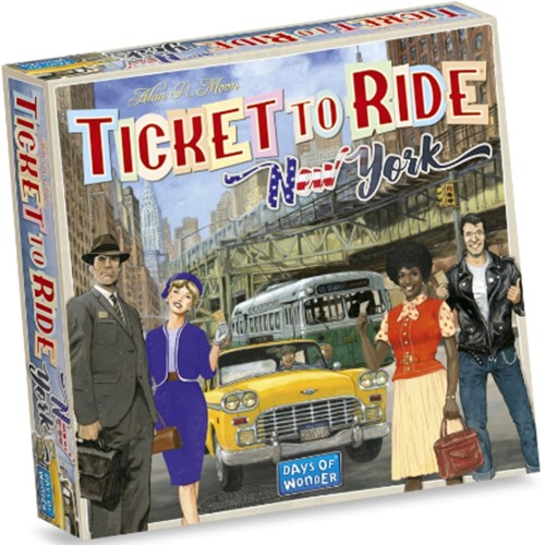 Ticket to Ride New York (NL versie)