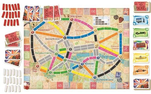 Ticket to Ride - London (NL versie)-3