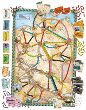 Ticket to Ride - Germany-2
