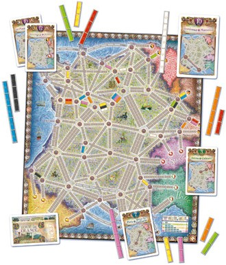 Ticket to Ride - France & Old West