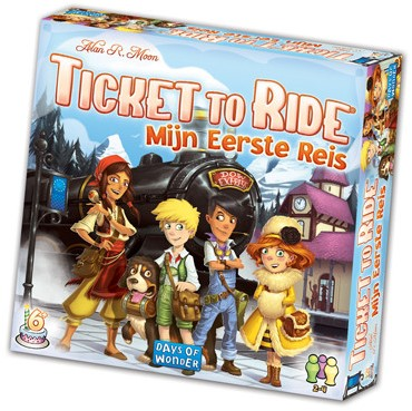 Ticket To Ride - Mijn Eerste Reis-1