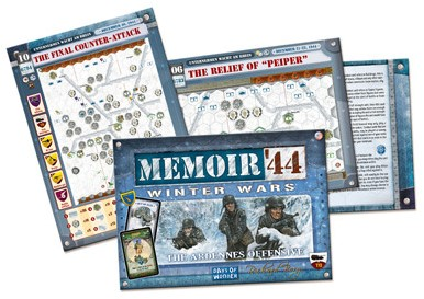 Memoir '44 ext. 8 Winter Wars - The Ardennes Offensive-2