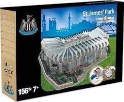Newcastle United - St James Park 3D Puzzel (140 stukjes)