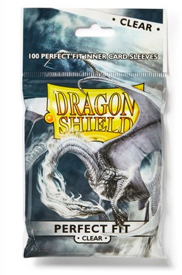 Dragon Shield Sleeves - Perfect Fit - Clear (100 stuks)