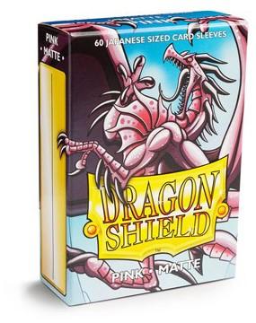 Dragon Shield Sleeves Japanese Pink (60 stuks)-1
