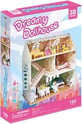 3D Puzzel - Dreamy Dollhouse (160 stukjes)