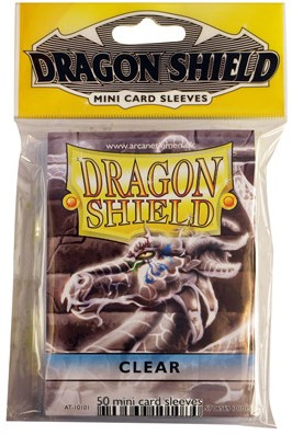 Dragon Shield Sleeves - Mini Clear (59x86 mm)