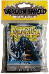 Dragon Shield Sleeves - Mini Zwart (59x86 mm)