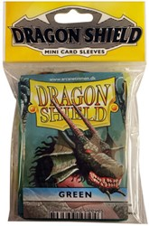 Dragon Shield Sleeves - Mini Groen (59x86 mm)