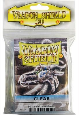 Dragon Shield Sleeves - Standaard Clear (66x92 mm)