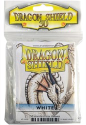 Dragon Shield Sleeves - Standaard Wit (63x88 mm)