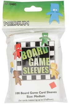 Board Game Sleeves - Medium (57x89 mm)