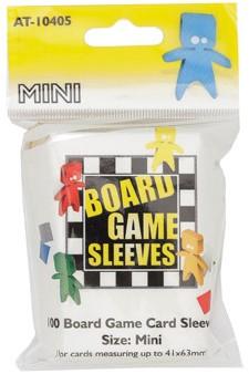Board Game Sleeves - Mini (41x63 mm)