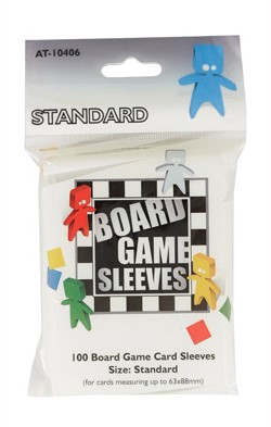 Board Game Sleeves - Standard (63x88mm)