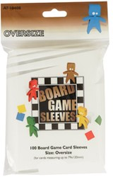 Board Game Sleeves - Oversize (79x120 mm)