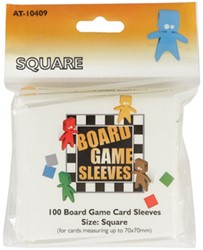 Board Game Sleeves - Square (70x70 mm)