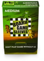 Sleeves Non Glare Board Game - Medium (57x89 mm)