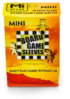 Sleeves Non Glare Board Game - Mini (41x63 mm)