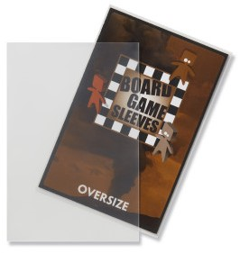 Sleeves Non Glare Board Game- Oversize (82x124 mm)