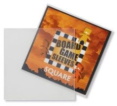 Sleeves Non Glare Board Game- Square (69x69 mm)
