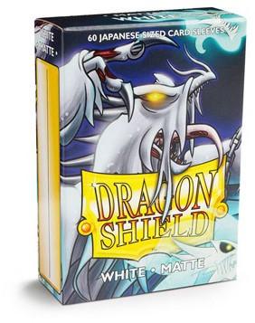 Dragon Shield Sleeves Japanese White (60 stuks)