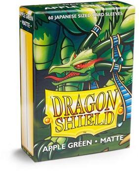 Dragon Shield Sleeves Japanese Apple Green(60 stuks)-1