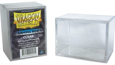 Dragon Shield Deckbox - Transparant