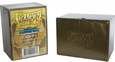 Dragon Shield Deckbox - Goud