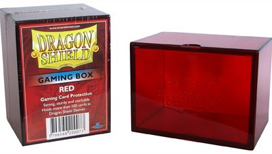 Dragon Shield Gaming Box - Rood